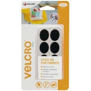 Pastilles Velcro carrées - blanc - 25 mm (x24)
