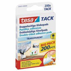 tesa® Tack – 200 pastilles Transparentes