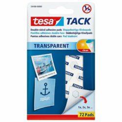 tesa® Tack – 72 pastilles Transparentes